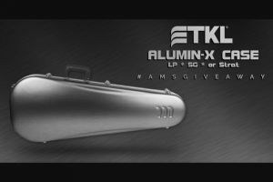 American Musical Supply – Tkl Alumin-X Case Giveaway Sweepstakes