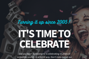 Audioengine – 15th Anniversary Giveaway – Win an A1 Home Music System w/ Bluetooth