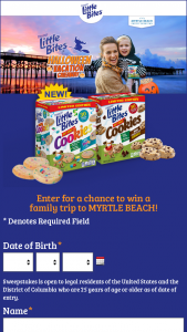 Bimbo Bakeries – Halloween Vacation Giveaway With Little Bites Visit Myrtle Beach – Win a trip that includes three (3) nights