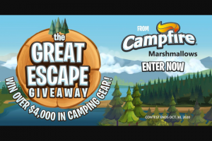 Campfire Marshmallows – Great Escape Sweepstakes
