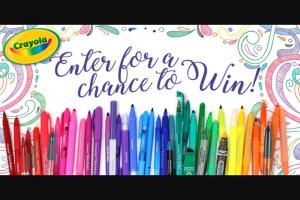 Crayola – Social Media Sweepstakes