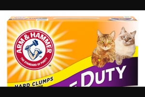 EXTRATV – Arm & Hammer's Purrfectly Impurrfect Contest – Win ARM & HAMMER Cat Litter