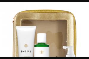 EXTRATV – Philip B Hair  Scalp Treatment Sweepstakes