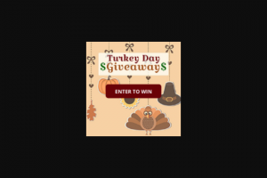 Frankly Media – $3000 Turkey Day Giveaway – Win a cash award in the amount of US$3000.