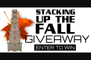 Grizzly – Stacking Up The Fall Giveway Sweepstakes