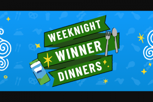 Hidden Valley Hv Food – Weeknight Winner Dinners – Win Valley Ranch branded card set one giant wooden toppling tower game with carrying case one Hidden Valley Ranch branded game night box and one cornhole game