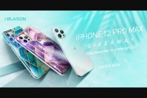 I-Blason – Iphone 12 Pro Max Giveaway Sweepstakes