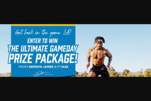 Lifeaid – Derwin James Gameday Giveaway Sweepstakes