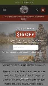 Mack's Prairie Wings – Mack's Duck Days Giveaways Sweepstakes