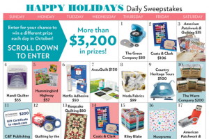 Meredith Corporation – Happy Holidays Sweepstakes