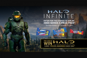 Mondelez Global Nabisco – Halo Infinite – Win an Xbox Series X Console