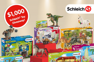 Schleich – $1000 Toy Giveaway Sweepstakes