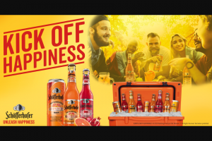 Schofferhofer – Kick Off Happiness Sweepstakes