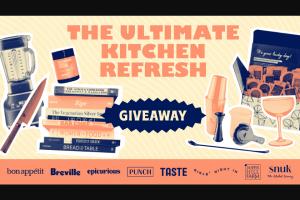 Taste Penguin Random House – Ultimate Kitchen Refresh Sweepstakes