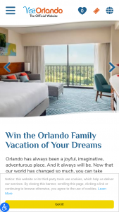 Visit Orlando – Orlando Family Vacation – Win one flight voucher per traveler