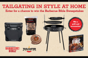 Workman Publishing – Barbecue Bible Tailgating In Style At Home – Win one (1) copy of Project Fire by Steven Raichlen