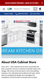 Aj Madison – Dream Kitchen Sweepstakes