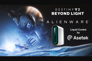 Alienware Arena – Destiny 2 And Asetek Liquid Cooled Desktop – Win receives One (1) Alienware Aurora R11 gaming desktop one (1) Destiny 2 Beyond Light deluxe edition steam product activation key