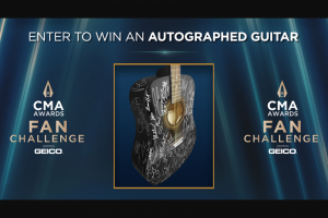 Cma Awards – 2020 Fan Challenge Sweepstakes
