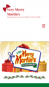 Martin's Famous Pastry Shoppe – A Very Merry Martin's Giveaway – Win Fryer Carving Set Bakeware Set and Martin's Kitchen Set