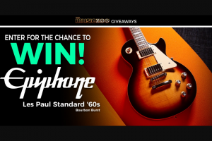 The Music Zoo – Epiphone Les Paul Sweepstakes