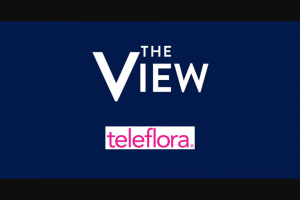 ABC – The View And Teleflora Holiday Giveaway – Win one (1) Teleflora gift card (subject to terms and conditions thereon).