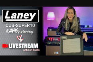 American Musical Supply – Laney Cub-Super10 Giveaway Sweepstakes