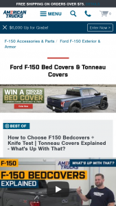 American Trucks – 2021 F150 Bedcover – Win a Proven Ground bedcover of their choice that is available on americantruckscom