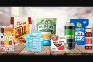 Bubba's Fine Foods – Ultimate Paleo Giveaway Sweepstakes