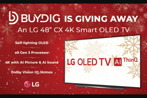 Buydig – Oled TV – Win One LG 48″ CX 4K Smart OLED TV w/ AI ThinQ (2020) is $1499.99