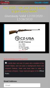 Gallery Of Guns – Great Gun Giveaway – Win CZ 457 Premium rifle