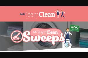 Henkel – Ask Team Clean – Win A Sponsor specified $4000 Gift Card