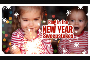 Little Tikes – Ring In The New Year – Win a Little Tikes prize pack