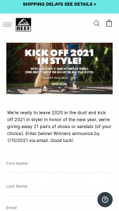 Rockport – Reef Step Into 2021 In Style Sweepstakes