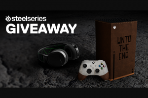 Steelseries – Unto The End Giveaway – Win (1x) Custom Unto The End Xbox Series X AND (1x) SteelSeries Arctis 7X AND (1x) Copy of Unto The End for Xbox 9 RUNNER UP WINNERS WILL EACH RECEIVE (1x) Copy of Unto The End for Xbox