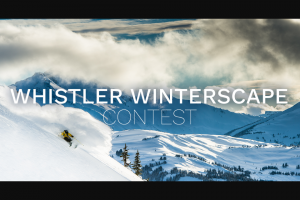 Tourism Whistler – Whistler Winterscape Contest Sweepstakes