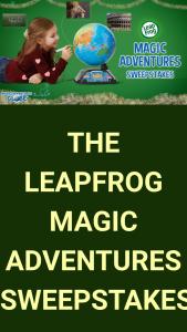 Vtech Electronics – Leapfrog Magic Adventure – Win one (1) of five (5) LeapFrog Magic Adventures Globes