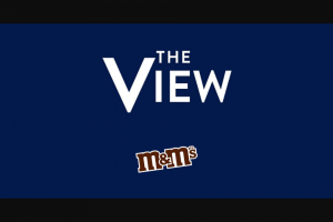 ABC – The View And M&m's Giveaway – Win a $100.00 electronic voucher to wwwMMScom (subject to terms and conditions thereon).