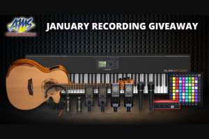 American Musical Supply – Recording Package Giveaway Sweepstakes