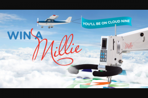 APQS – Win A Millie – Win an APQS Quilting Gift Basket full of thread