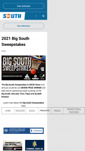 Big South – Basketball – Win a set of Hercules Tires two mini helmets autographed by a professional football player and a NEW Apple Watch 6.