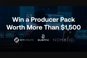 """Bpm Supreme – """"new Year New Gear Giveaway"""" Sweepstakes"""