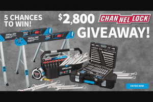 Do It Best Corp – Channellock Hand Tools Giveaway – Win for any reason or c) has violated therulesof the giveaway