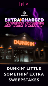 Dunkin Brands – Dunkin' Little Somethin' Extra Sweepstakes