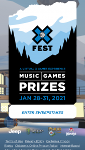 Espn – X Games Aspen – Win Titan Adventure Snowmobile