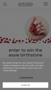 Essie – Birthstone Series 2021 – Win twelve (12) Essie Nail Polish product