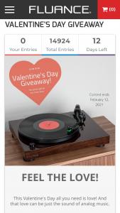 Fluance – Valentine's Day Giveaway – Win a Fluance RT81 Elite High Fidelity Vinyl Turntable (ARV $249.99)
