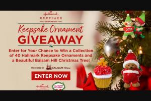 Hallmark Channel – Keepsake Ornament Giveaway Sweepstakes