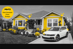 Hertz – Gold Standard Clean Sweepstakes