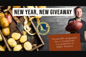 Idaho Potato Comission – New Year New Giveaway Sweepstakes